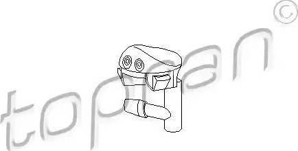 Topran 202406 - Розпилювач води для чищення, система очищення вікон autozip.com.ua