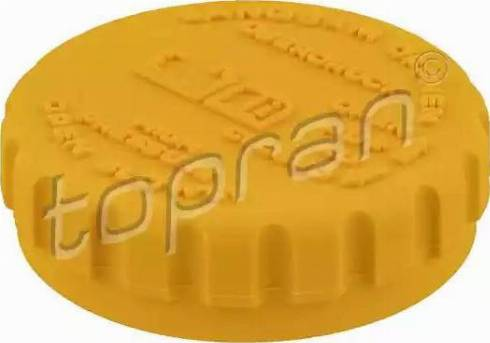 Topran 202261 - Кришка, резервуар охолоджуючої рідини autozip.com.ua