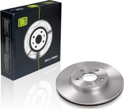 Trialli DF 062104 - Економічний гальмівний диск autozip.com.ua