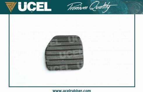 UCEL 10675 - Педальні накладка, педаль гальма autozip.com.ua