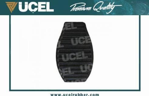 UCEL 31517 - Накладка на педаль, педаль зчеплення autozip.com.ua
