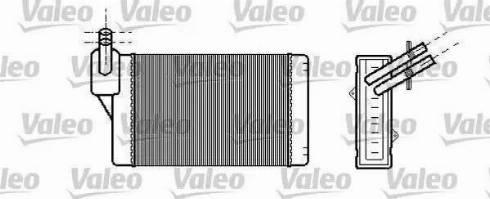 Ava Quality Cooling VWA 6060 - Теплообмінник, опалення салону autozip.com.ua