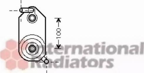 Van Wezel 58003110 - Масляний радіатор, автоматична коробка передач autozip.com.ua