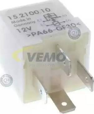 Vemo V15-71-0010 - Реле, поздовжній нахил шворня вентилятора autozip.com.ua