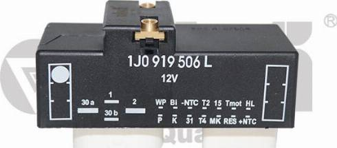 Vika 99190019801 - Блок управління, ел.  вентилятор (охолодження двигуна) autozip.com.ua