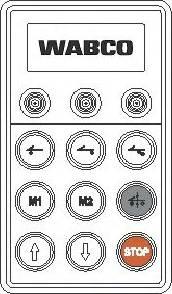 Wabco 4460561170 - Блок управління, пневматична підвіска autozip.com.ua