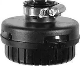 Wabco 4324070600 - Глушник шуму, пневматична система autozip.com.ua