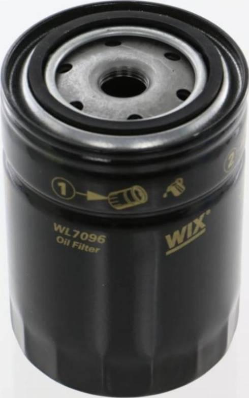 WIX Filters WL7096 - Фільтр, Гідравлічна система приводу робочого устаткування autozip.com.ua